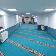 Vergrößerung der Moschee